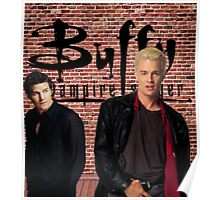 Buffy Angel Spike  Poster