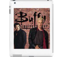 Buffy Angel Spike  iPad Case/Skin