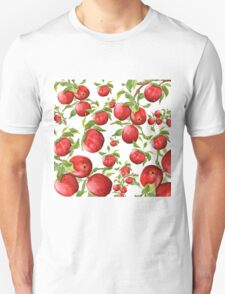 red apple pattern Unisex T-Shirt