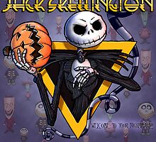 Jack Skellington : welcome to your nightmare by Bleee