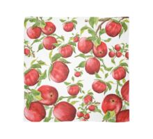 red apple pattern Scarf