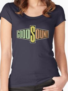 Good sound Women's Fitted Scoop T-Shirt