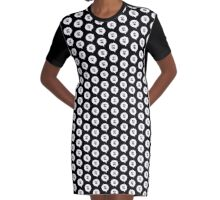 Hey You Graphic T-Shirt Dress