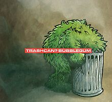Trashcan : bubblegum by Bleee