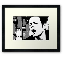 nate ruess Framed Print