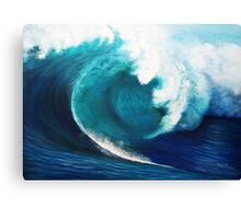 The invisible surfer Canvas Print