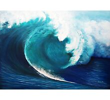 The invisible surfer Photographic Print