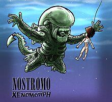 Nostromo : xenomorph by Bleee