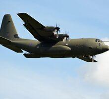 Hercules Flypast by Andy Jordan