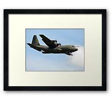 Hercules Flypast Framed Print