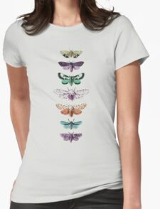 Techno Moth Collection Womens Fitted T-Shirt