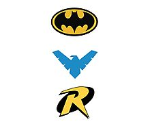 Batmen Photographic Print