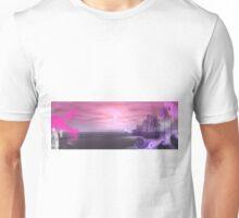 Lunar Beach Sunrise  Unisex T-Shirt