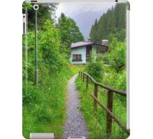 Summer trip to Bad Gastein, Austria iPad Case/Skin