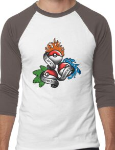Life's Hardest Choice Men's Baseball ¾ T-Shirt