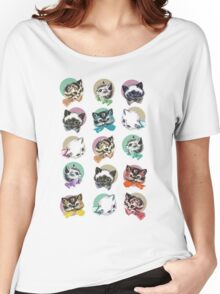 Cats & Bowties Women's Relaxed Fit T-Shirt