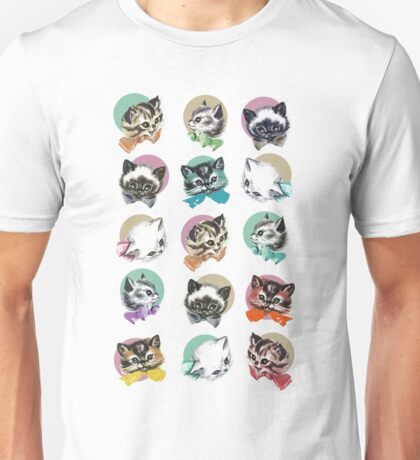 Cats & Bowties Unisex T-Shirt