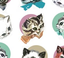 Cats & Bowties Sticker