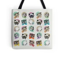 Cats & Bowties Tote Bag