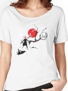 Japanese Wolf Women's Relaxed Fit T-Shirt