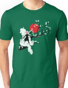 Japanese Wolf Unisex T-Shirt