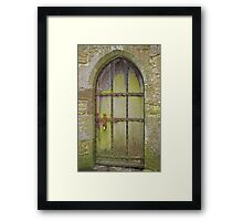 Ancient Archway Framed Print