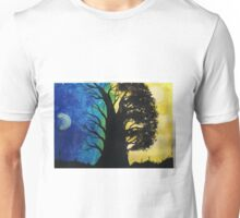 A Contrast in Light and Color Unisex T-Shirt