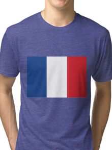 The Flag of France Tri-blend T-Shirt