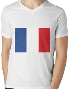 The Flag of France If you like, please purchase, try a cell phone cover thanks Mens V-Neck T-Shirt