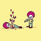 Clown death by Randyotter