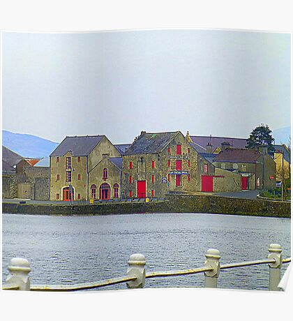 Ramelton Quay........................................Ireland Poster