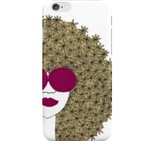 Afro girl iPhone Case/Skin