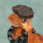 Elegant Mr. Dachshund by Sparafuori