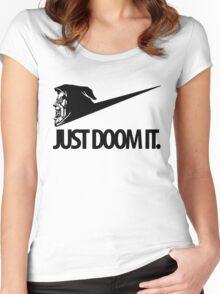 Just Doom It Women's Fitted Scoop T-Shirt