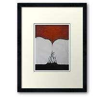 Meditation Abstract 1 Framed Print