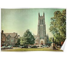 Duke Chapel in Durham, NC Poster