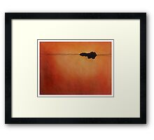 Meditation Abstract 8 Framed Print