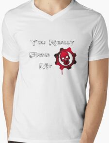 You really grind my Gears (Of War) Mens V-Neck T-Shirt