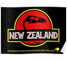 New Zealand: Haast's Eagle Skull Poster
