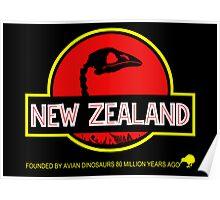 New Zealand: Moa Skull Poster