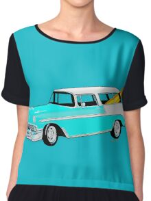 56 Nomad by the Sea in the Morning Chiffon Top
