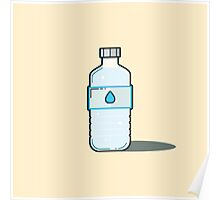 Bottle of H2O Poster