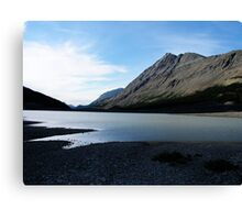 Icefields In Summertime Canvas Print