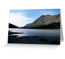 Icefields In Summertime Greeting Card