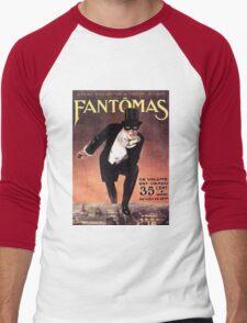 Fantomas Men's Baseball ¾ T-Shirt