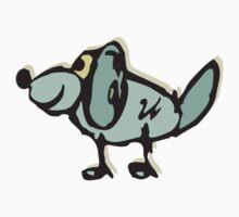 Dog Cartoon Kids Tee