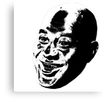 Ainsley Harriott's dark side Canvas Print