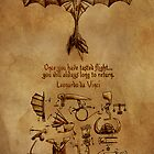 DaVinci's Dragon (Hiccup's Sketchbook) by inhonoredglory