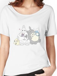 Ghibli Baymax  Women's Relaxed Fit T-Shirt