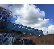 Hillsborough Sheffield Wednesday Photographic Print
